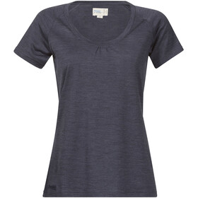 Bergans W's Sveve Wool Tee Night Blue Melange